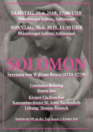 Solomon - Serenata von William Boyce